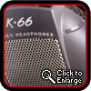 AKG K66 - Reference Headphones (click to englarge)